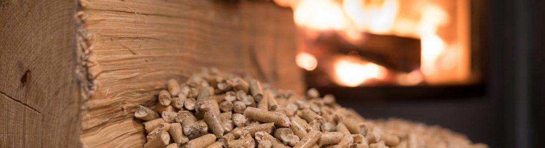 poêle à granules de bois