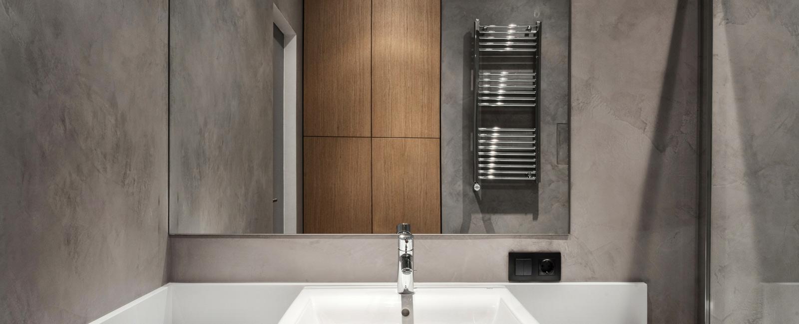 sèche-serviette électrique en inox