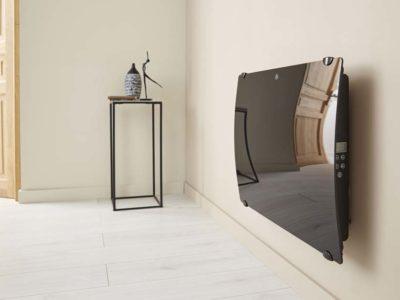 Le radiateur en verre : le radiateur électrique ultra design