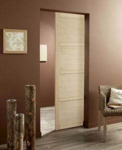 Les portes int rieures pensez aux solutions gain de place conseils travaux - Leroy merlin galandage ...