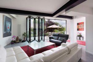 Portes-pliantes-vitrees-Reynaers