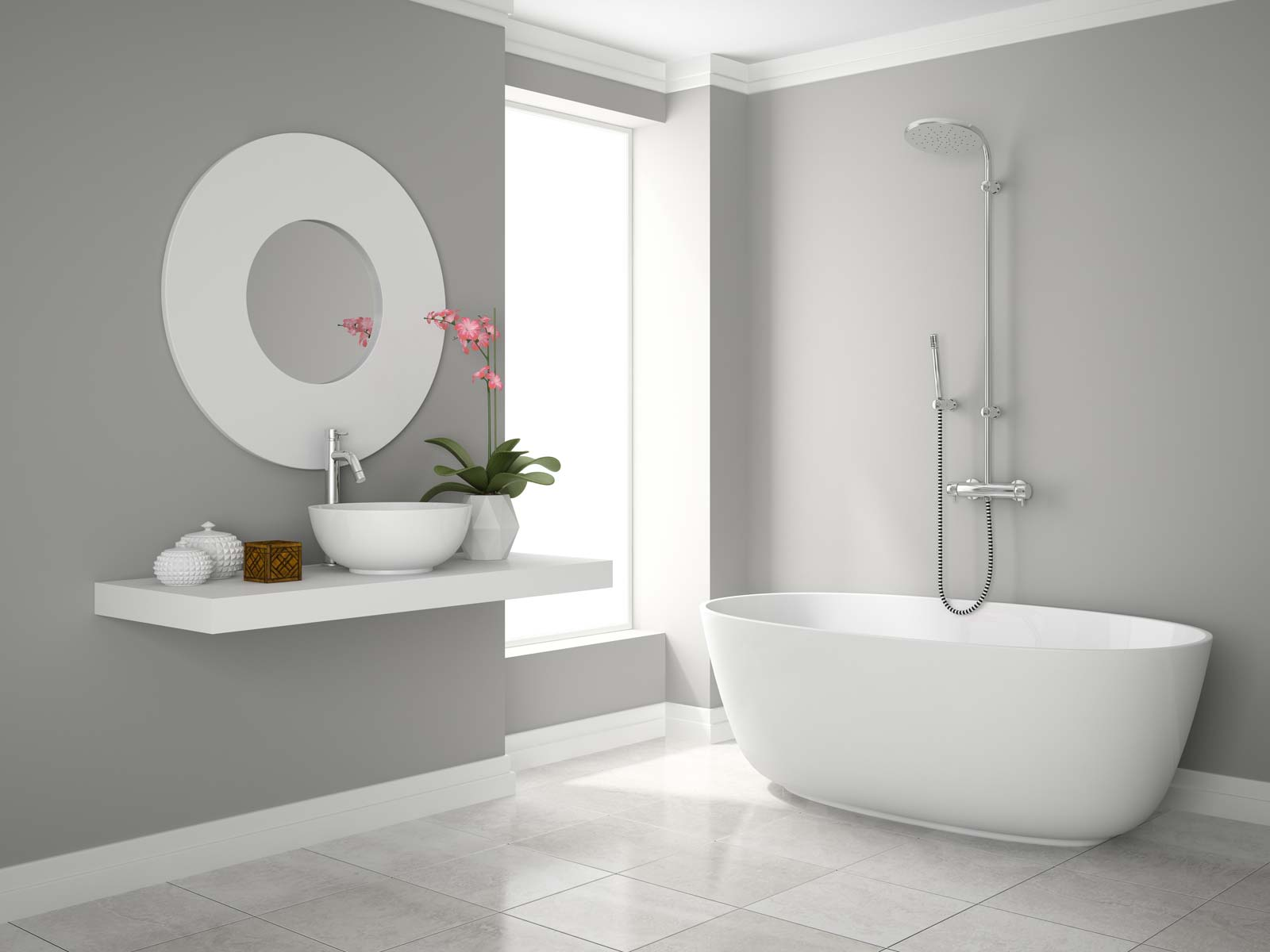 Quotatis la salle de bain high tech connectivit et for Miroir salle de bain high tech