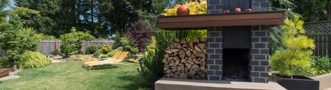 cheminées de jardin