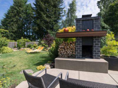 Une vraie cheminée dans le jardin, c'est possible !