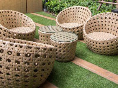 Zoom sur les matériaux pour le mobilier de jardin