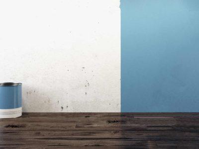 Peinture à l'eau : sans odeur et passe-partout