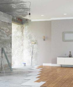 La Rénovation murs, sols et plafonds