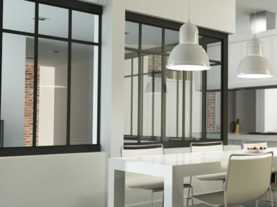Repensez l'espace intérieur avec une verrière