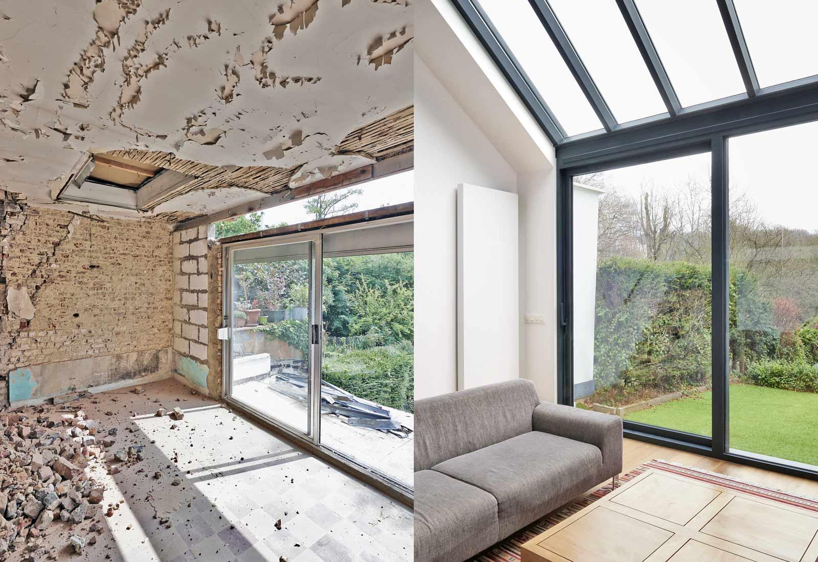 Travaux de r novation am nagement projet de r novation budget prix co t devis - Photo de renovation de maison ...