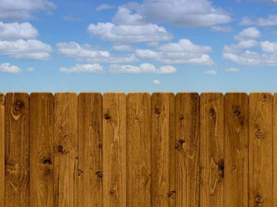 La clôture palissade