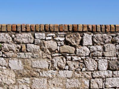 Le mur de clôture