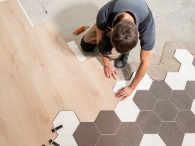 Délimiter l'espace avec des revêtements de sols
