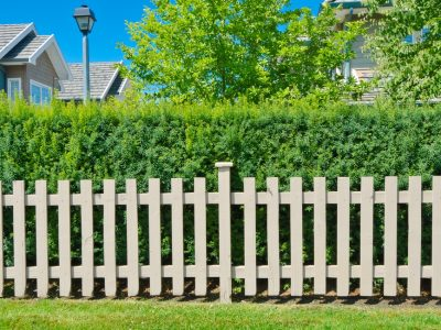 Les différents types de clôtures