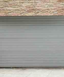 La porte de garage enroulable