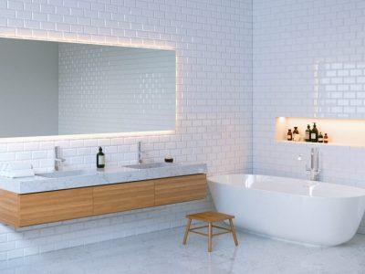 La tendance des miroirs connectés dans la salle de bains