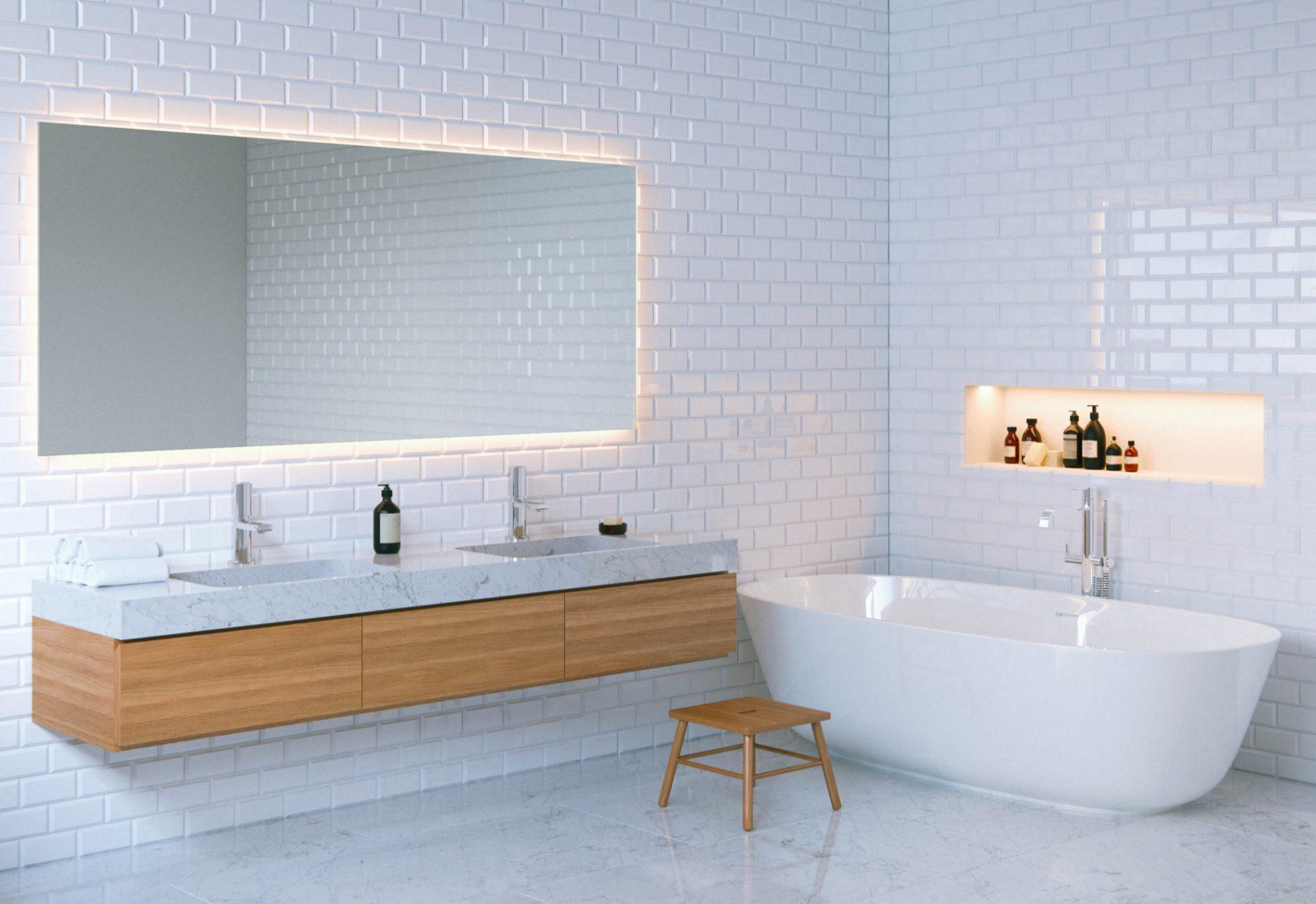 Pourquoi choisir un miroir connect pour sa salle de bains - Miroir salle de bain connecte ...