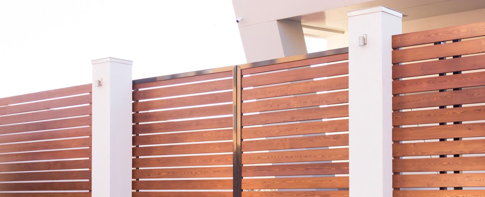 barrière en bois