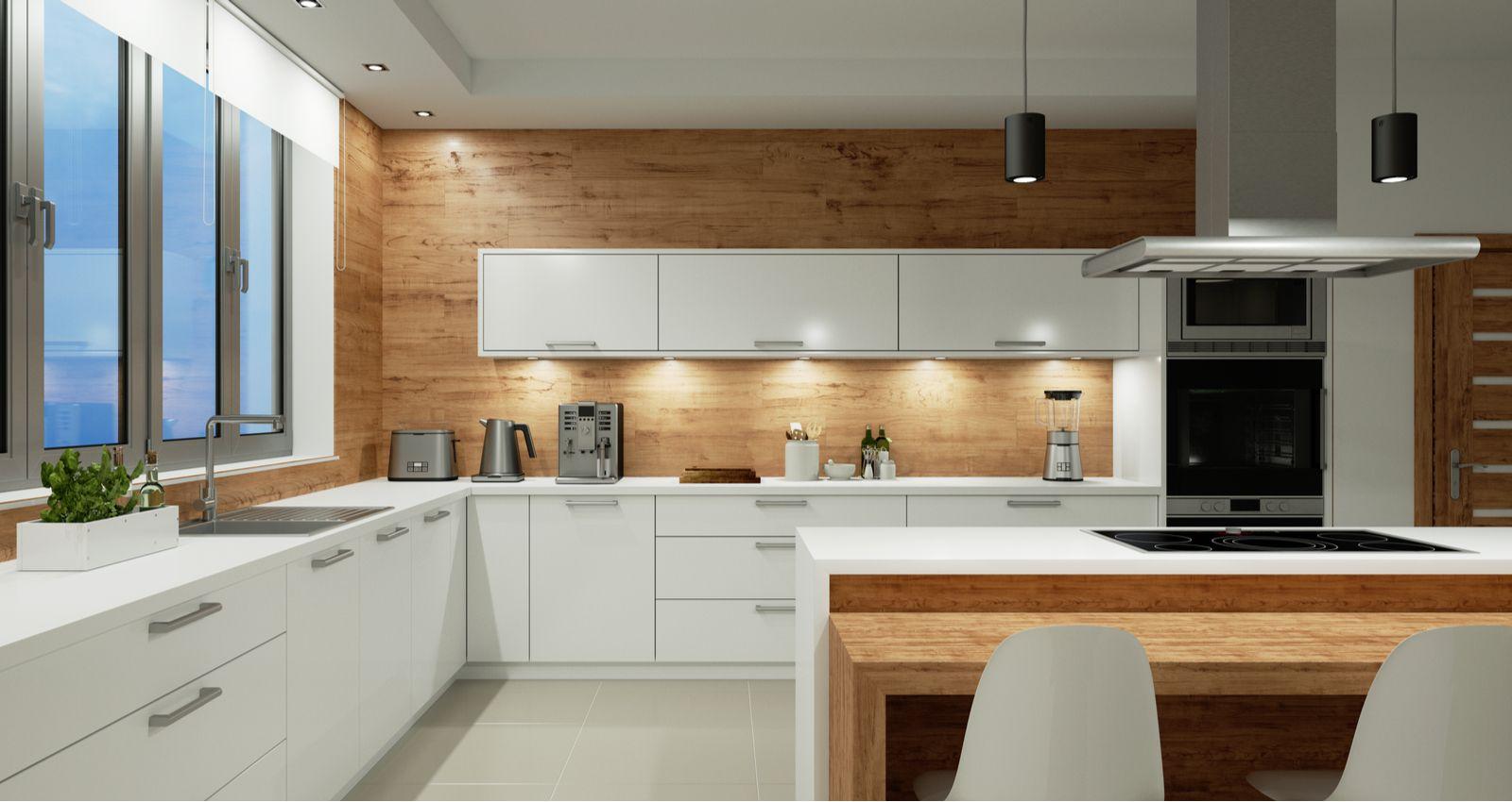 Fixer Un Ilot Central Au Sol comment installer, monter un ilot de cuisine? prix coût devis