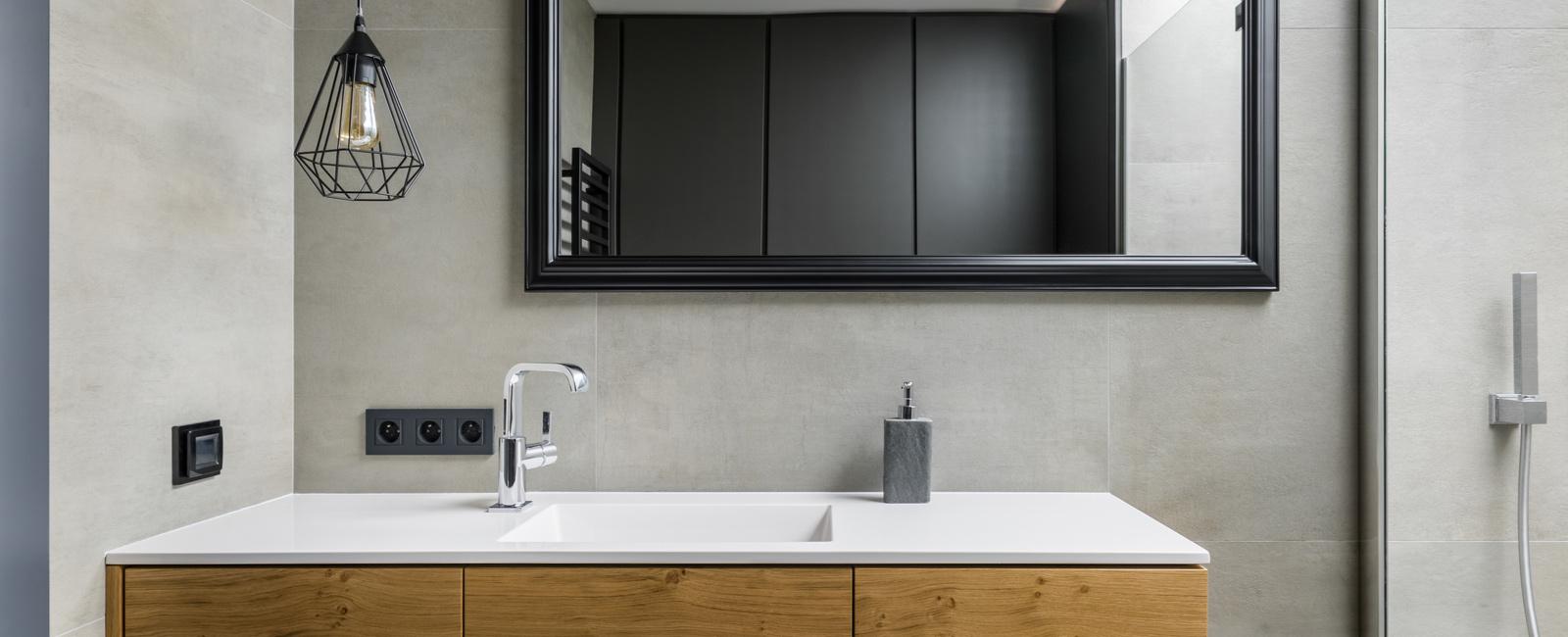 Espace Entre 2 Vasques comment installer, monter, poser une vasque de salle de bain ?