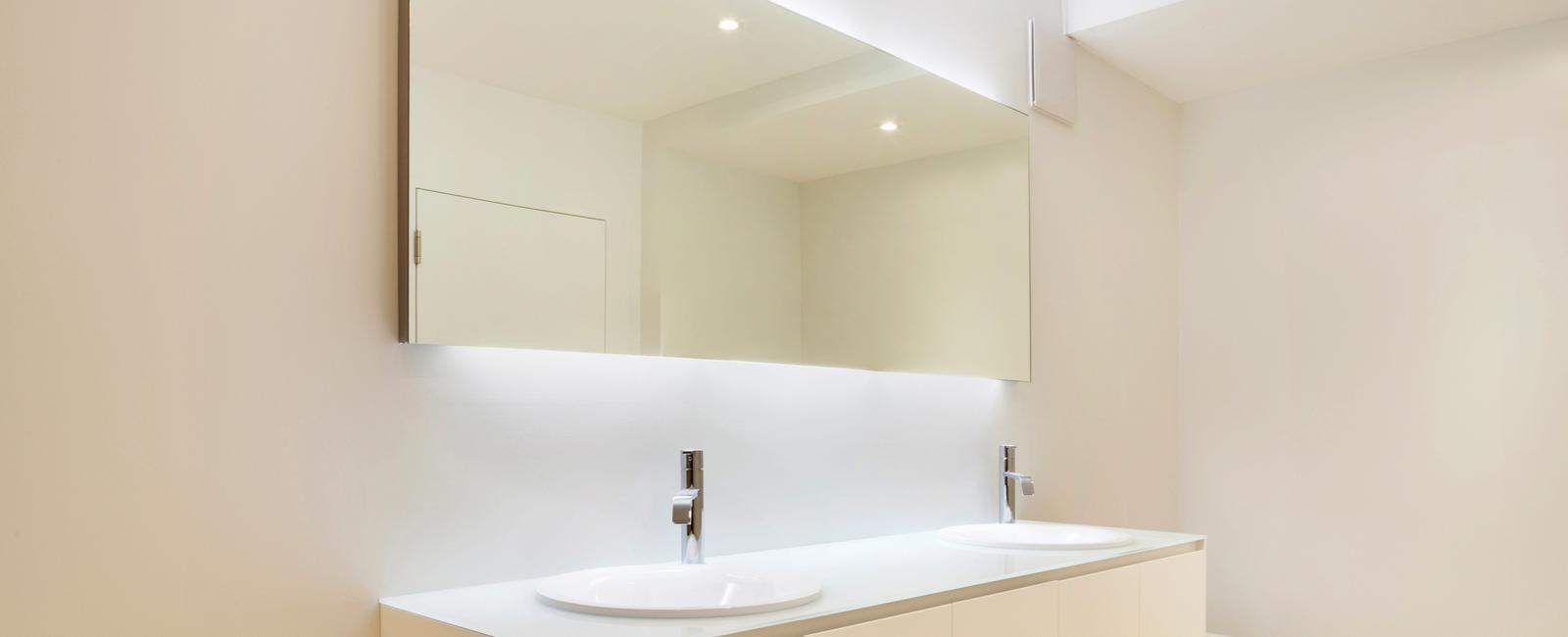 pose éclairage salle de bain