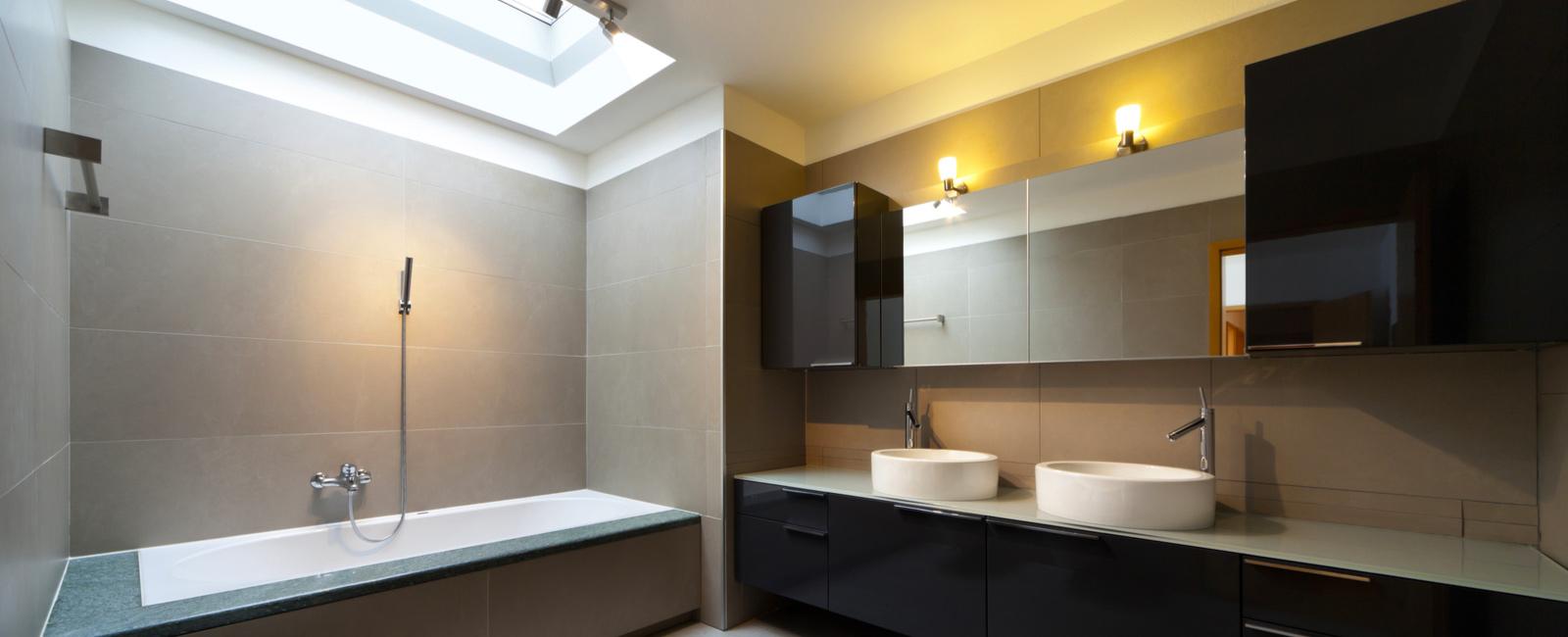 pose luminaire salle de bain