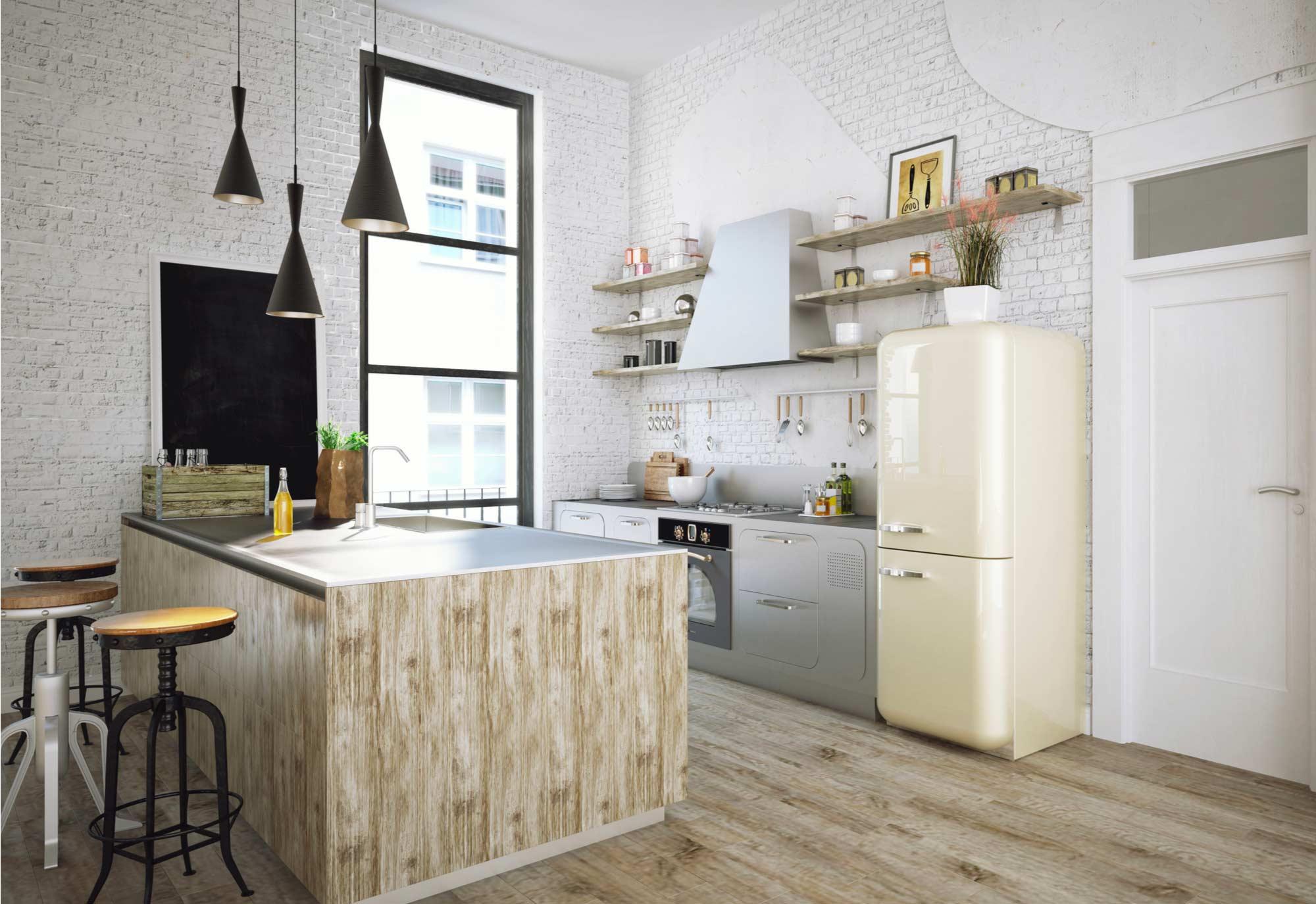 Comment relooker une cuisine rustique prix co t devis - Comment installer une cuisine equipee ...
