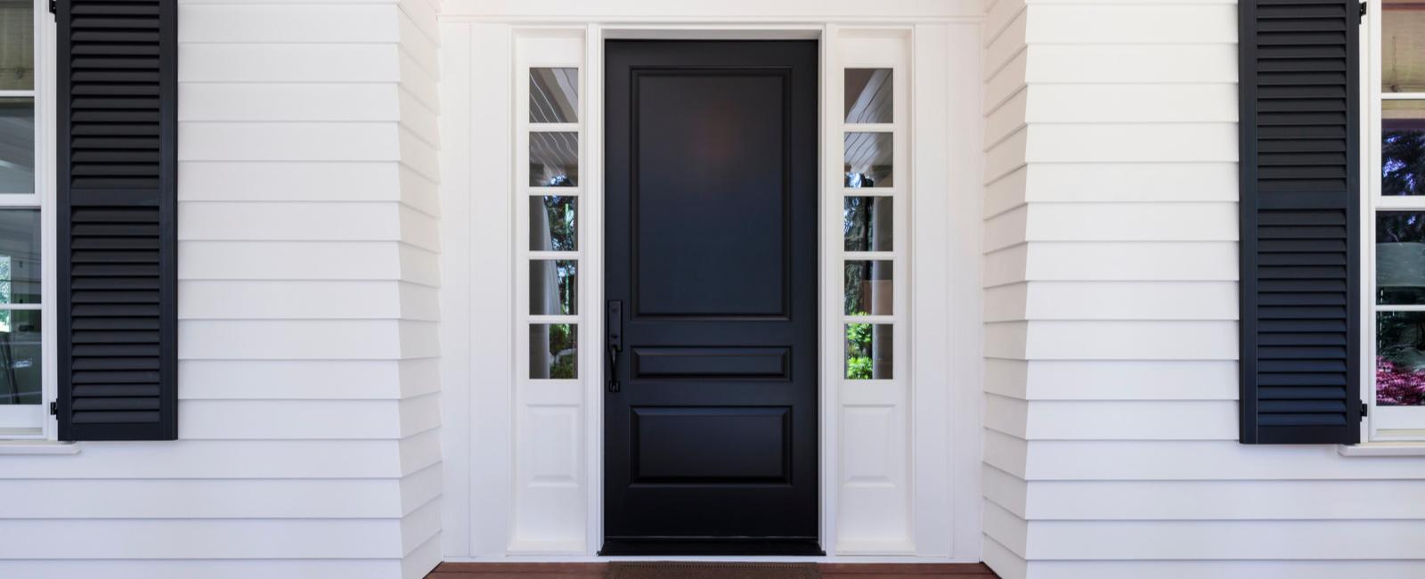 réparer porte d'entrée